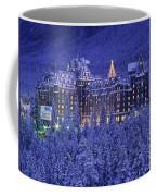 D.wiggett Banff Springs Hotel In Winter Coffee Mug