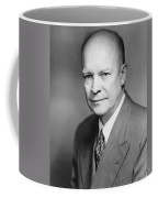 Dwight Eisenhower Coffee Mug by War Is Hell Store