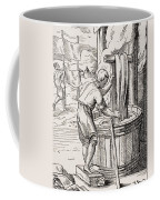 Dyer. 19th Century Reproduction Of 16th Coffee Mug