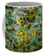 Dying Sun Flowers Coffee Mug