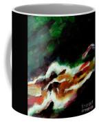 Dying Swan-abstract Coffee Mug