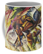 Dynamism Of A Cyclist Coffee Mug