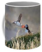 Dyrholaey Puffins Coffee Mug