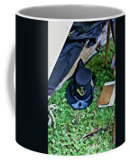 E Company Black Hat Coffee Mug