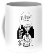 E Teen Alien Angst Coffee Mug