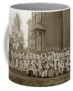 Eagle Band's Drum Corps. Native Sons Of The Golden West  Circa 1908 Coffee Mug