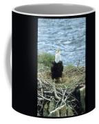 Eagle Calls In Its Mate Coffee Mug