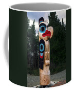 Eagle Clan Totem Pole Coffee Mug