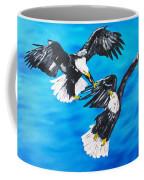 Eagle Fight Coffee Mug