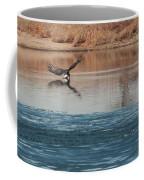 Eagle Fishing Coffee Mug