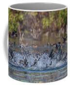 Eagle Induced Chaos Coffee Mug