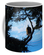 Eagle - Mt Baker - Eagles Nest Coffee Mug