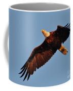 Eagle Over The Fox Coffee Mug