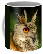 Eagle Owl Coffee Mug by Jacky Gerritsen
