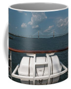Eagle View Of Ravenel Bridge Coffee Mug