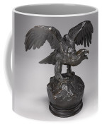 Eagle With Wings Outstretched And Open Beak Coffee Mug