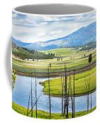 Eagles View, Hayden Valley, Yellowstone Coffee Mug