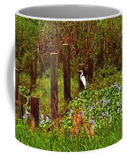 Egret And Heron Coffee Mug