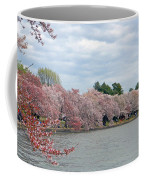 Early Arrival Of The Japanese Cherry Blossoms 2016 Coffee Mug