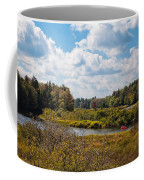 Early Autumn At The Tobie Trail Bridge Coffee Mug
