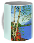Early Autumn Birches Coffee Mug