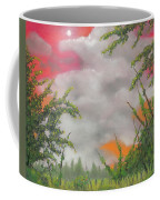 Early Autumn Moon Coffee Mug