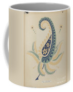 "Early Californian Skirt From The Portfolio ""decorative Art Of Spanish California"" Coffee Mug"