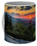 Blue Ridge Parkway Sunrise - Beacon Heights - North Carolina Coffee Mug