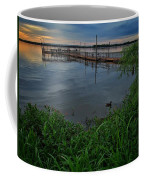Early Day At The Dock Coffee Mug