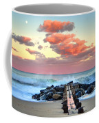 Early Evening At The Beach Coffee Mug