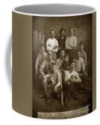 Early Monterey Baseball Team Circa 1895 Coffee Mug