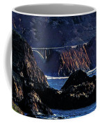 Early Morning At Bixby Creek Bridge Coffee Mug