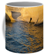 Early Morning Gold At Valletta Fortifications Coffee Mug