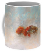 Early Morning Herd Coffee Mug by Frances Marino