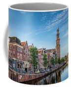 Early Morning In Amsterdam With Canal Coffee Mug
