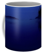 Early Morning Mist Over Lynx Lake In Northern Saskatchewan Coffee Mug
