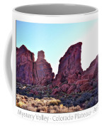 Early Morning Mystery Valley Colorado Plateau Arizona 05 Text Coffee Mug