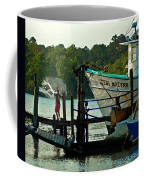 Early Morning Net Toss Coffee Mug