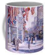 Early Morning On The Avenue In May 1917 - 1917 Coffee Mug