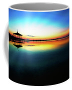 Early Morning Rays Over The Boat House Coffee Mug
