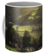 Early Morning Welsh Sheep Farming Coffee Mug