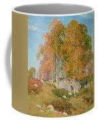 Early October Coffee Mug by Willard Leroy Metcalf