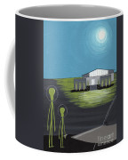 Early Painting Father And Son Aliens Coffee Mug