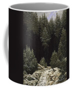 Early Snow Coffee Mug by Caspar David Friedrich