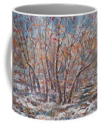 Early Snow. Coffee Mug