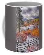 Early Snowfall At Dallas Divide Coffee Mug