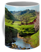 Early Spring In The Valley Coffee Mug
