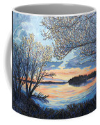 Early Spring Sunset Coffee Mug