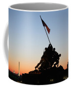 Early Washington Mornings - Iwo Jima Memorial Coffee Mug
