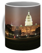 Early Washington Mornings - Us Capitol In The Spotlight Coffee Mug